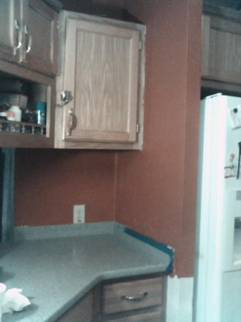 Renovating a prefab (mobile) home-kitchenwall1.jpg