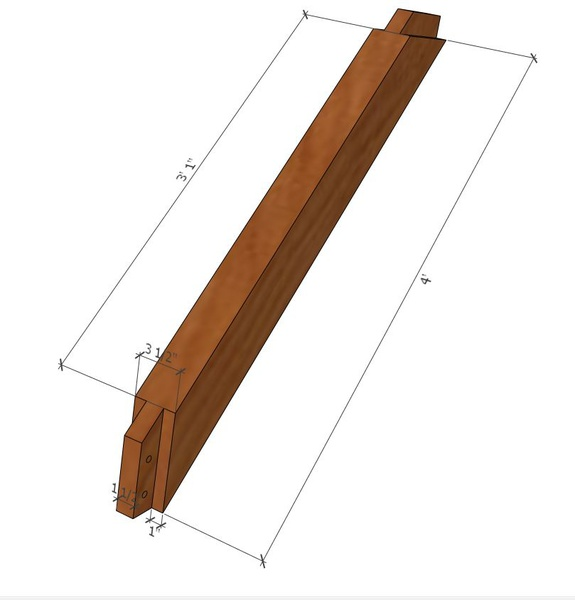 Notched Joints On Timber Frame Pergola - Carpentry - DIY Chatroom ...