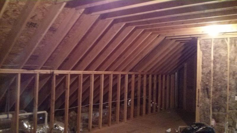 Finishing Attic Space Best Insulation Plan Insulation
