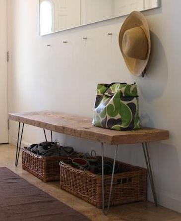 Reclaimed Wood Console Table Building Amp Construction