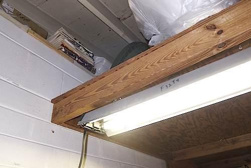 Garage Loft Ledger To Ledger Joists Building