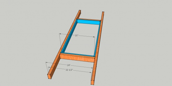 How much opening space lost to attic ladder?-ladder-opening.jpg