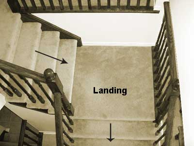 Adding A Stair Landing Is It Possible Carpentry Diy