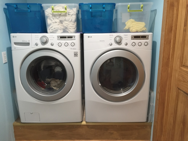 [ laundry-living ] -- simplest & most helpful way to sort dirty and clean laundry in-laundry.jpg