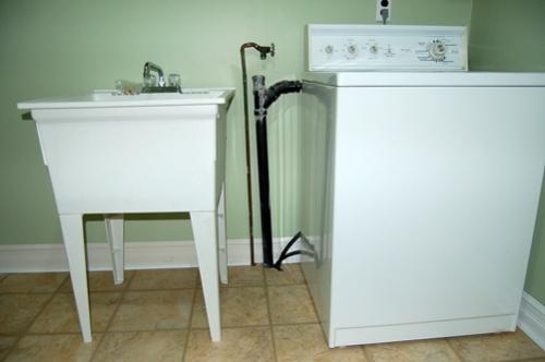 Plumbing Laundry Sink : Laundry tub plumbing/drain hookup? Kinda Unique..-laundry-room-setup ...