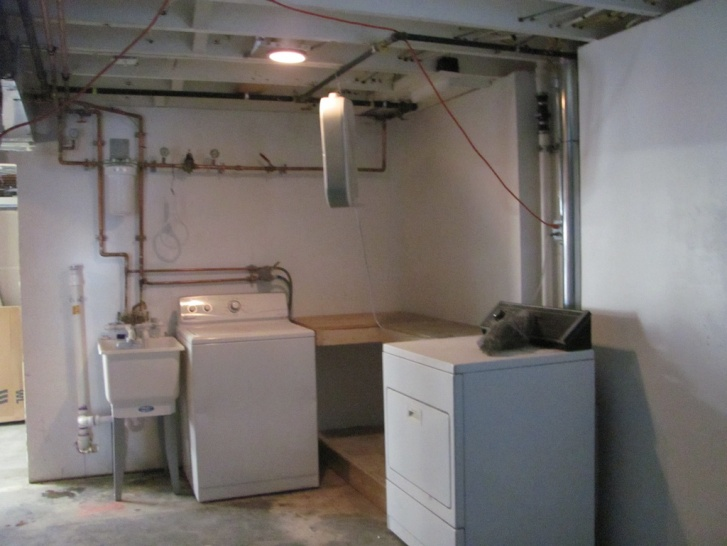 Sump Aboutdone Jpg Laundry Sink Cabinet Over Top A Pump