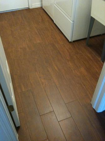 Ceramic Tile that looks like Hard Wood floor-laundry2.jpg
