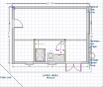 New Plumbing For Bathroom In Outbuilding On Slab Plumbing DIY - Plumbing a new bathroom