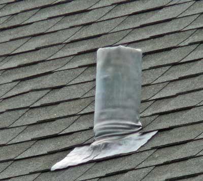 Vent Pipe Is Leaking In Attic Plumbing Diy Home
