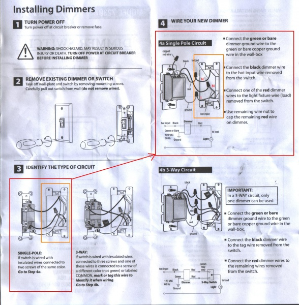 LED Dimmer Installation (for An Idiot) - Electrical - DIY