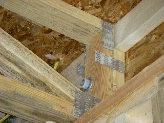 Ledger Board With Engineered Trusses W Picture