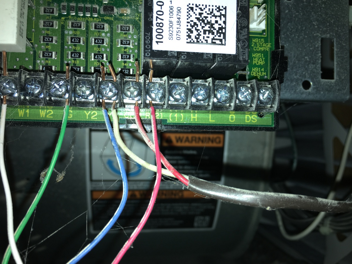 Aprilaire 500 Wiring To Furnace