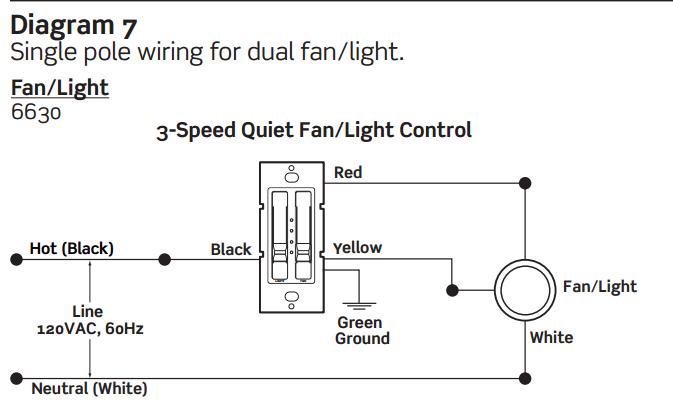 ceiling fan light switch problem electrical diy. Black Bedroom Furniture Sets. Home Design Ideas