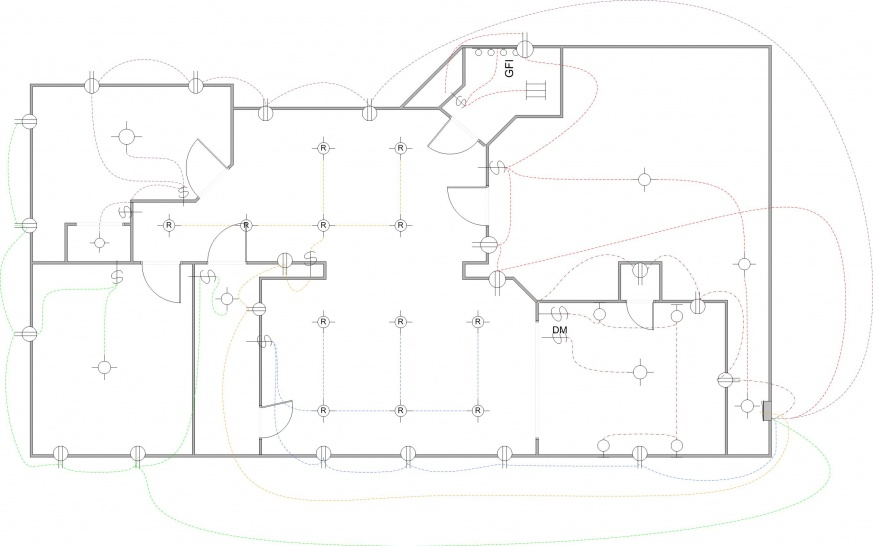 wiring a basement diagram wiring for new basement, design help - electrical - diy ...