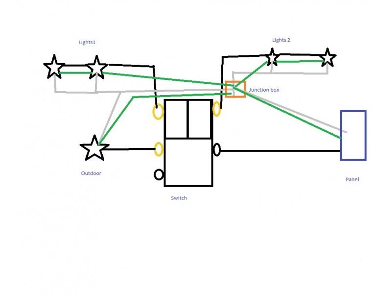 Triple Single Pole Light Switch Wiring - Electrical
