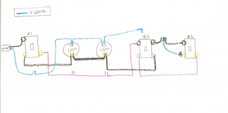 Advanced Way Switch Help Electrical DIY Chatroom Home - 4 way switch help