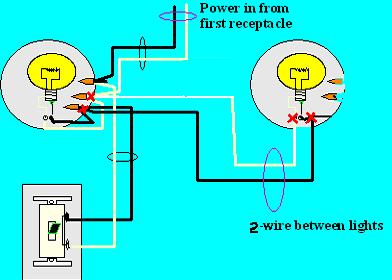 wiring two lights to one switch diagram the wiring diagram one switch two lights nilza wiring diagram