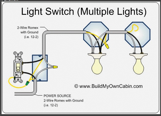 How To Wire Multiple Ceiling Lights In Barn