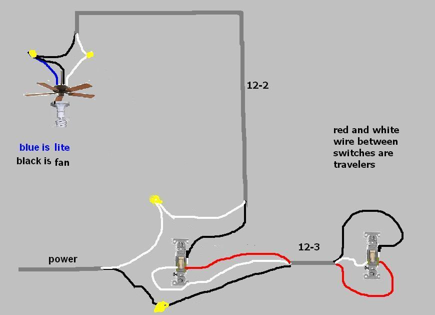 3 sd ceiling fan switch wiring diagram in the ceiling fan wiring w three way switch electrical diy chatroom  ceiling fan wiring w three way switch
