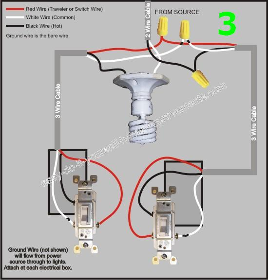 Two 3-way Switches, One Acting As A Master Switch? - Electrical ...