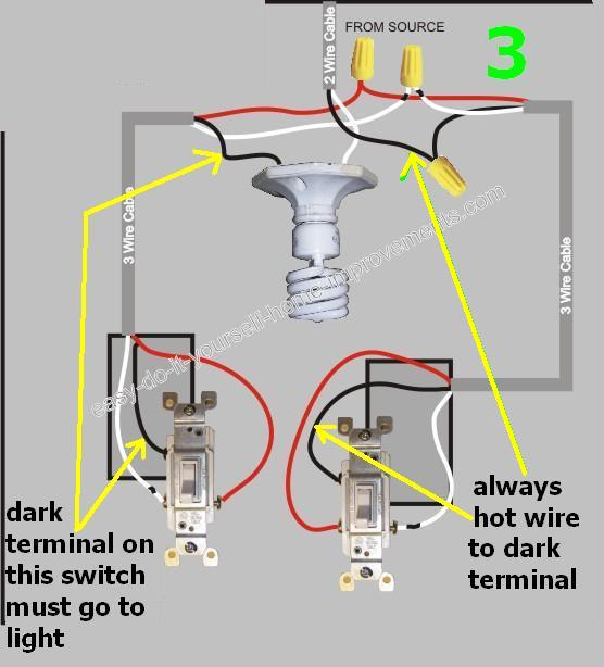 Three way switch troubleshooting jonathan steele 3 way switch trouble electrical diy chatroom home improvement forum ccuart Gallery