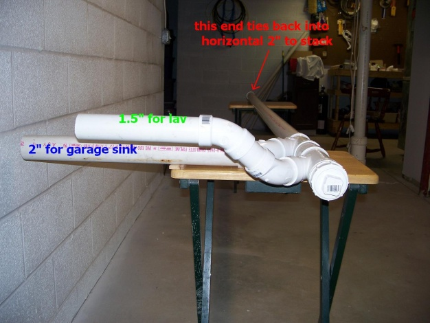 "Can bath sink and service sink drain into 1.5"" branch drain-look-north-far-end-even.jpg"