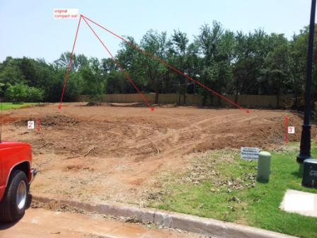 What Kind of Foundation?-lot-cleared-leveled-6-27-marked.jpg