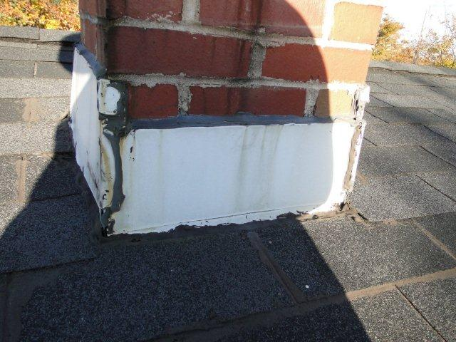 Roof Flashing Around Chimney Roofing Siding Diy Home