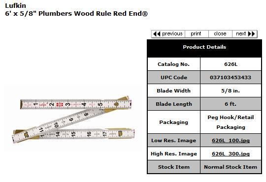 Lufkin Folding Rulers-lufkin-plumbers-ruler.jpg