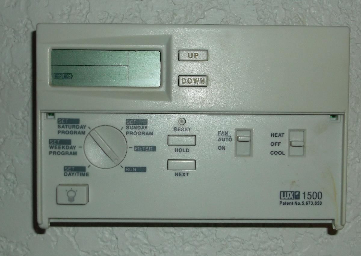 Electronic Thermostat Burning Through Batteries - HVAC - DIY