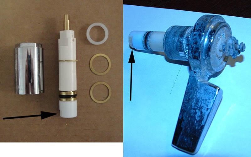 Mixet Shower Valve Temperature Handle Spins Round N Round - Plumbing ...