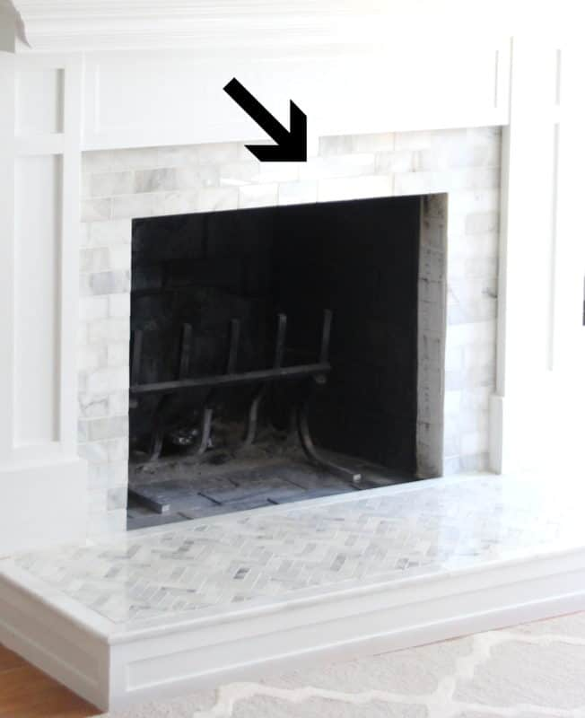 Marble Tile Fireplace Surround Diy, Is Marble Good For Fireplace Surround