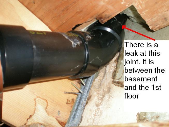 Main Abs Drain Pipe Leakage Plumbing Diy Home Improvement