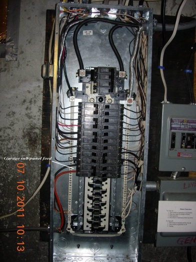 Garage Sub Panel Questions Electrical Diy Chatroom