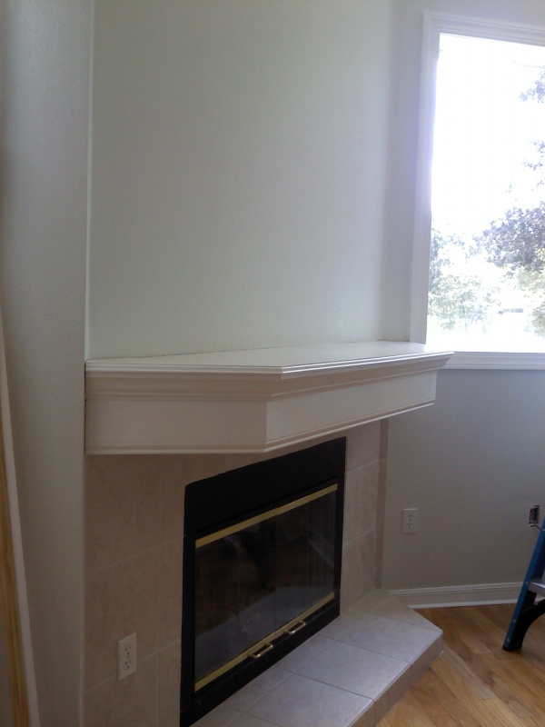 Unusual mantel - Need some advice on finishing it (See Pics)-mantel-1.jpg