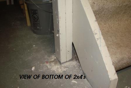 support post at base of basement stairs-march-30-2011-dogs-027.jpg