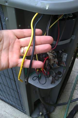 Capacitor 4 Wire Condenser Fan Motor Wiring Diagram from www.diychatroom.com