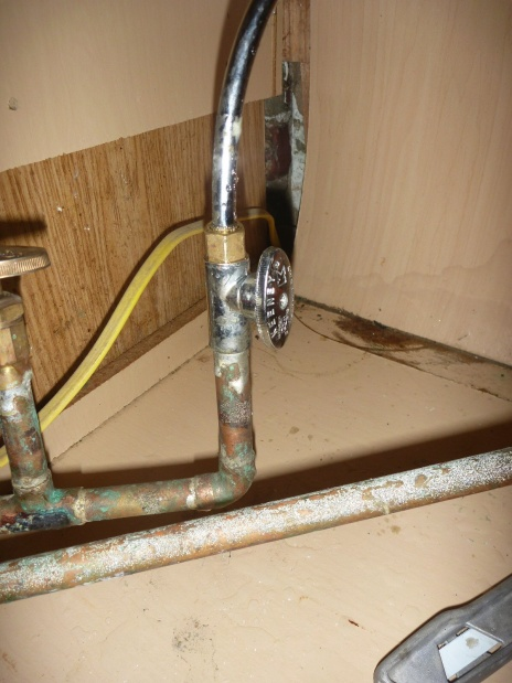 Kitchen Sink Compression Valve Leaking - Plumbing - DIY Home ...