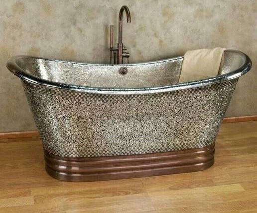 Painting a Clawfoot Bathtub-metallic-tub.jpg