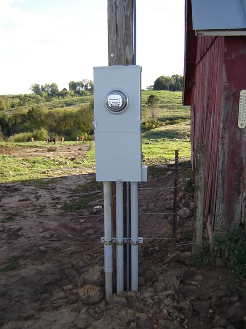 Outside Electrical Panel on zinsco dangerous, main breaker, ways hide, mobile home, door covers,