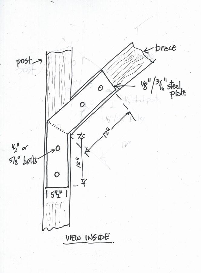 Two Diagonal Bracing Questions Building Amp Construction