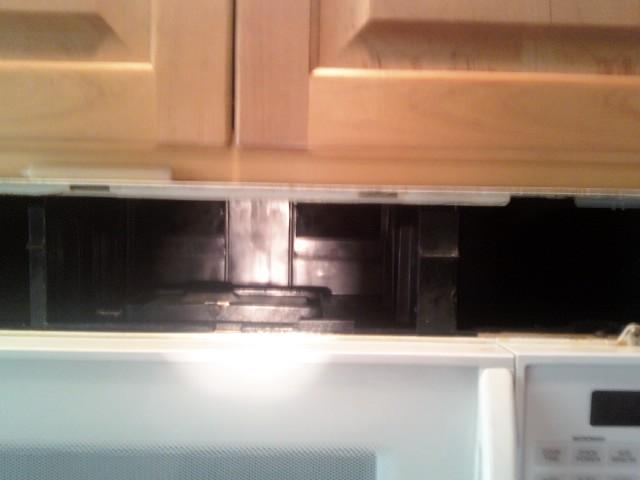 Can T Remove Whirlpool Over The Range Microwave