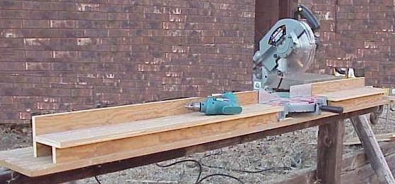 Miter Saw Stand For My Bosch Gcm12sd Tools Diy