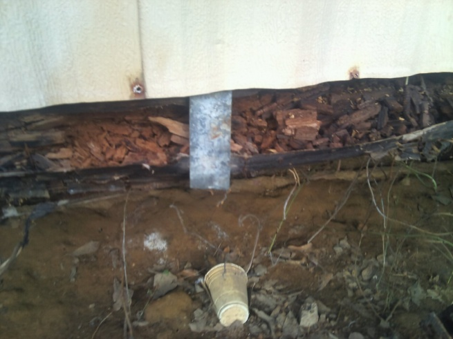Sill Rotten On A Mobile Home Building Amp Construction