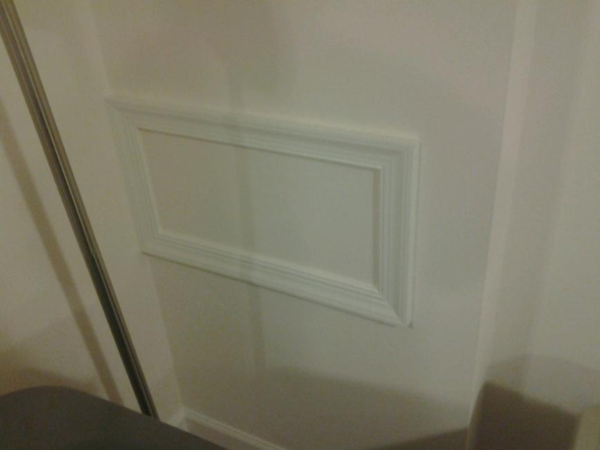 access panel preventing basement bath conversion? mms picture