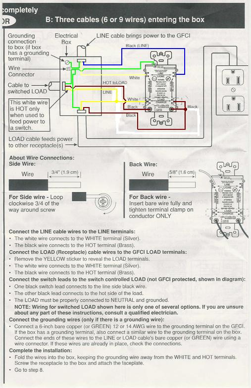 GFCI    Switch    To Control Outside Outlets  Electrical  DIY Chatroom Home Improvement Forum