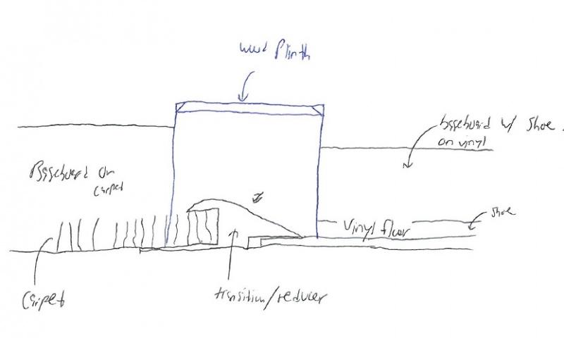 Baseboard Transition - Flooring - DIY