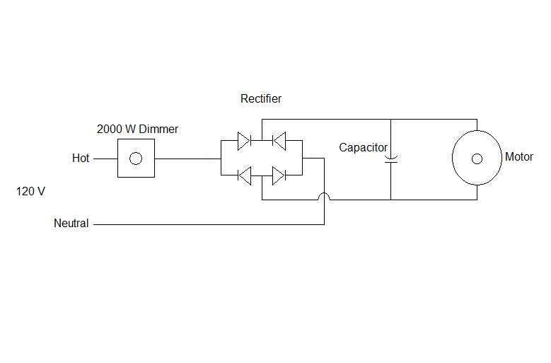 90vdc Motor To 110 Outlet - Electrical