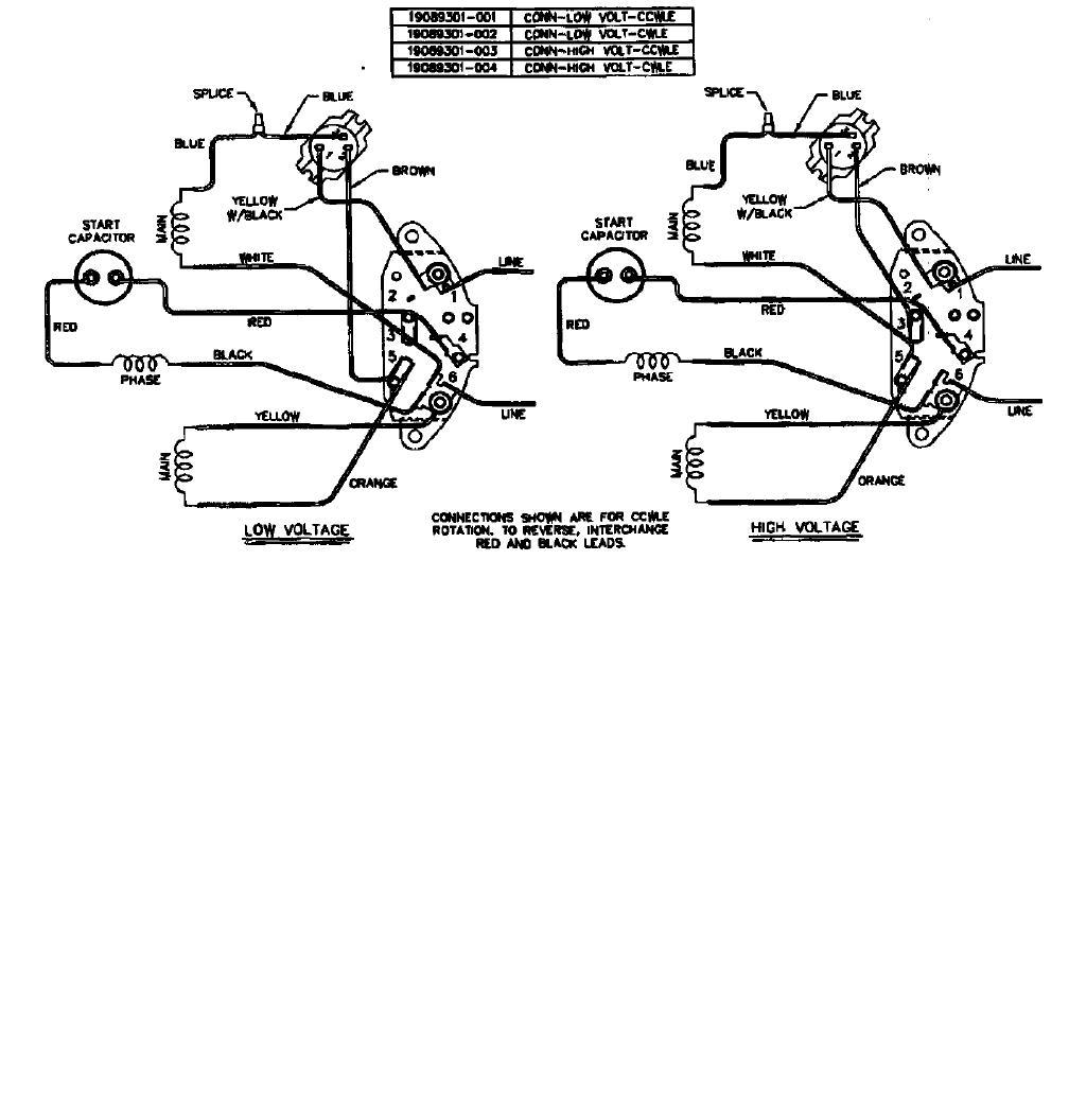 wiring a dayton motor, Wiring diagram