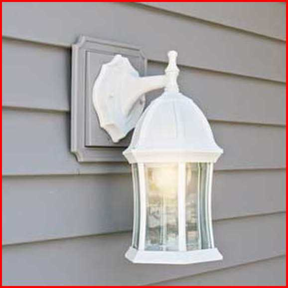 Vinyl Siding Light Fixture Mount Electrical Diy